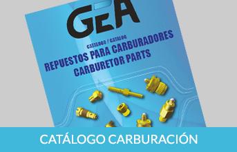 GEA catalogo carburación