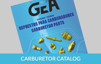 GEA catalogo carburación