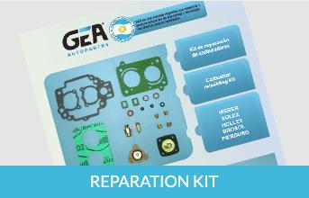 GEA kits de reparación
